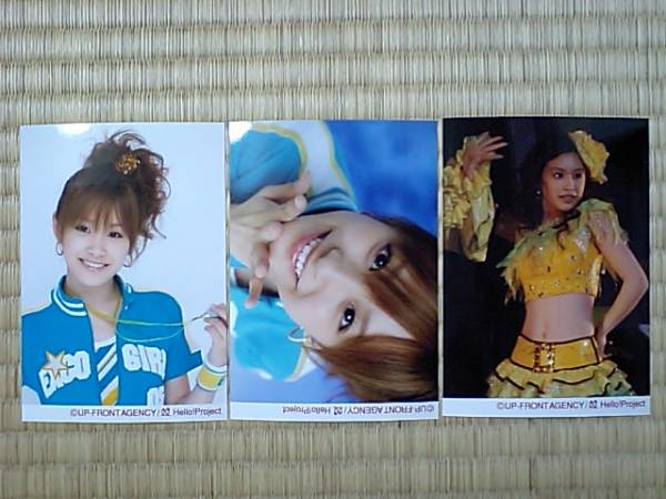 2006/1/28・29【高橋愛】全員集GO!☆横浜アリーナ限定写真3枚