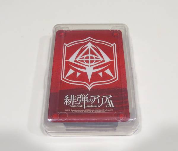 緋弾のアリアAA トランプ(1) 台湾正規品 送料込 グッズの画像