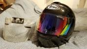 USED Araiヘルメット 黒メタ
