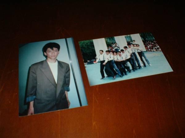 一世風靡セピア 哀川翔 プロマイド 写真 2枚セット♪