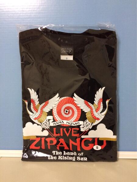 新品 水樹奈々 LIVE ZiPANGU Tシャツ Sサイズ