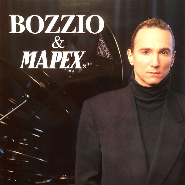 Terry Bozzioポスター2枚セット■珍しいMAPEXドラム・オフィシャル■Polytown時代,テリーボジオ,フランクザッパ/Frank Zappa関連