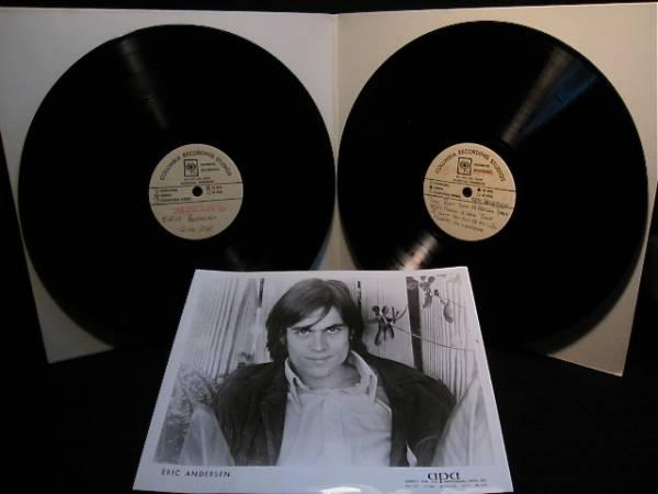 ERIC ANDERSEN(エリック・アンダースン)◎STAGES◎アセテート盤2LP[米Columbia1973年製]◎世界初公開!