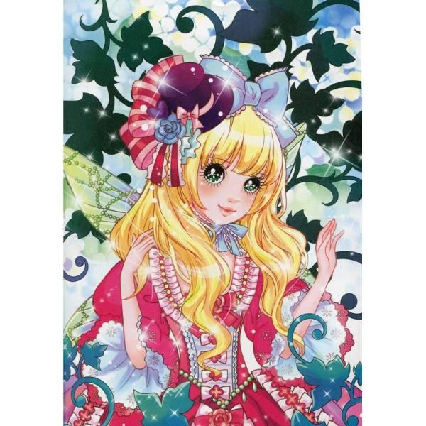 9787518026203 花の妖精 可愛いお姫様 大人の塗り絵 美少女塗り絵 萌え塗り絵 _画像2
