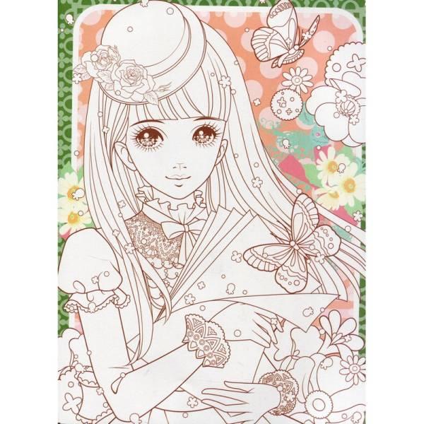 ヤフオク 9787534283659 可愛い王女 大人の塗り絵 伝
