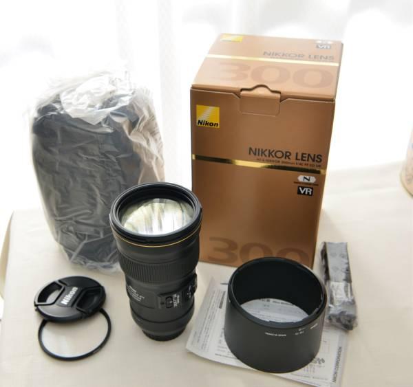 nikon純正77MMフィルターおまけ ニコン Fマウントの単焦点レンズ Nikon AF-S NIKKOR 300mm F4E PF ED VR