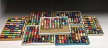 ◆オリヅル印 日本工業 絹ミシン糸130m 未使用品383個 正絹 和裁 アンティーク 着物