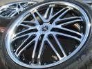 美品/新品タイヤ付!AMEシャレン XG-23 PCD120 レクサス LS460 LS600h BMW M5 E60 E61 F10 F11 F07等 タイヤ変更→ M3 E90 E91 F30 F31 F32