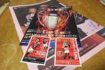 2017 XEROX SUPER CUP ゼロックススーパーカップ 浦和vs 鹿島、会場配布パンフレット&カード