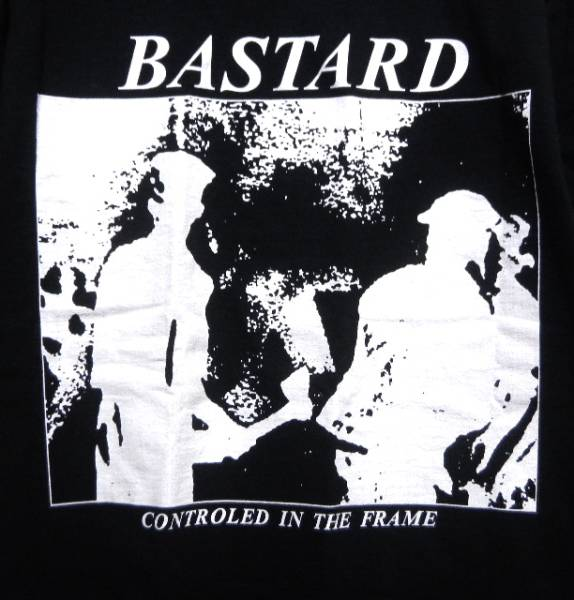 BASTARD Tシャツ lip cream napalm gauze gism death side nightmare愚鈍sob悪意corrupted sob outo discharge extreme noise terror dvd
