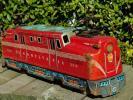 特大SIZE ヨネザワ 30'S-40'Sペンシルバニア鉄道GG1形電気機関車 日本製ビンテージ ブリキ玩具 ティントーイMADE IN JAPAN VINTAGE Tin Toy