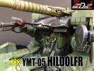 YMT-05 HILDOLFR ヒルドルブ EX MODEL 1/144 ウェザリング塗装 改修完成品 MSイグルー