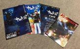【貴重】宇宙戦艦ヤマト2202 チラシ3種類(第1弾、第2弾、富士通キャンペーン)+掲載情報誌1冊