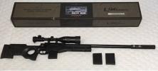 東京マルイ ボルトアクション エアーコッキングライフル L96 AWS BK スコープ&予備マガジン付