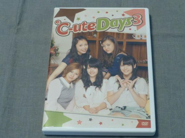 DVD ℃-ute Days3 ライブグッズの画像