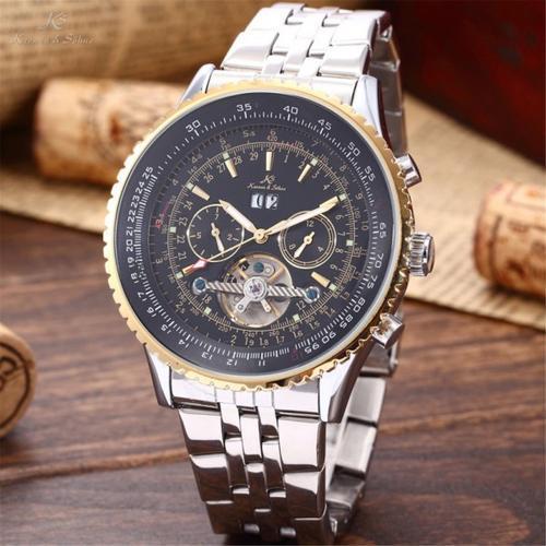 1円~ 【正規品・正規保証付き】 トゥールビヨン自動巻き 腕時計 新品