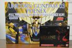 【新品・未開封品】PG 1/60 RX-0 ユニコーンガンダム3号機 フェネクス + ユニコーンガンダム用 L EDユニット セット