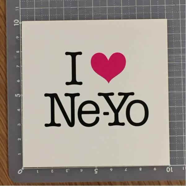 【送料無料】Ne-Yo / I Love Ne-Yoステッカー