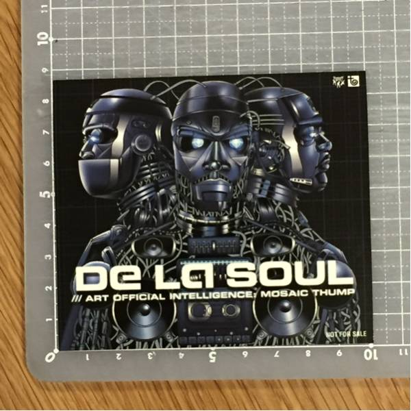 【送料無料】De La Soul - Art Official Intelligence: Mosaic Thump ステッカー②
