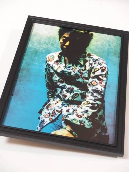 2 沢田研二 額装品 グラビア写真 広告20年前 当時希少 送164円可