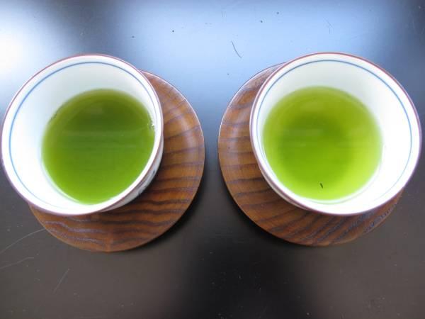 【出血半額セール】お茶ギフトセットの中身 200g4袋の銘茶詰め合わせ10800円を中身のみ半額の5400円で。_異なる2つのお茶をお楽しみください。