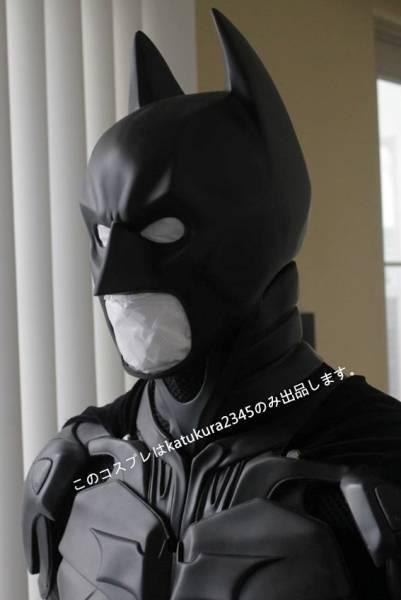 最新作 バットマン ダークナイト マスク コスプレ コスチューム _画像3