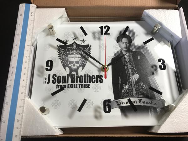 三代目 J Soul Brothers from EXILE TRIBE 登坂広臣 掛け時計_画像3