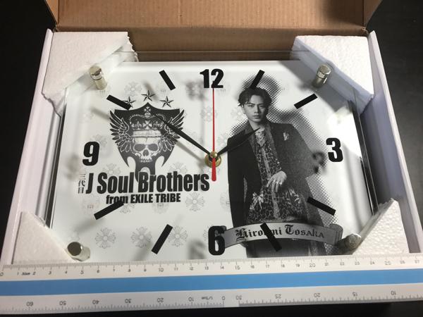 三代目 J Soul Brothers from EXILE TRIBE 登坂広臣 掛け時計_画像2