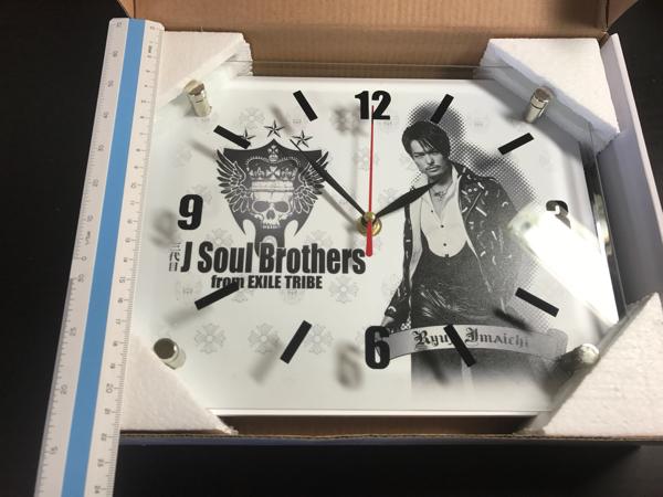 三代目 J Soul Brothers from EXILE TRIBE 今市隆二 掛け時計 時計_画像3