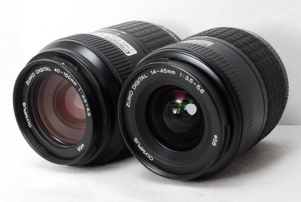 〓光学クリア〓オリンパス ED 14-45mm 40-150mm レンズ2本セット