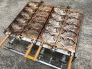 二連たい焼き器プロパンガス業務用/鯛焼き屋台美品