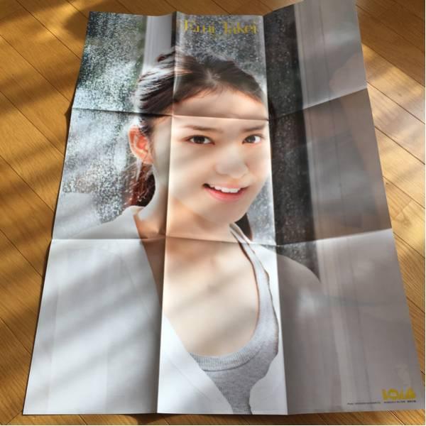武井咲 折りたたみポスター貼り付け無しボム付録2012.2 グッズの画像
