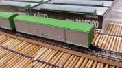 ▼KATO-8004▼ワキ10000(ワキ10026/大阪/梅田駅/黒染め車輪ロット)/単品6両セット/中古