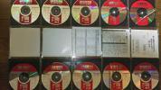 絵と歌詞が出る音声多重CDグラフィックカラオケ付き懐かしの人気歌手演歌CD10枚フルセット。