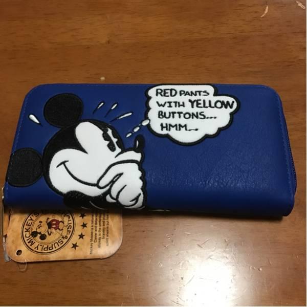 ★ディズニーストア ミッキー 長財布 WALLET 財布★ ディズニーグッズの画像
