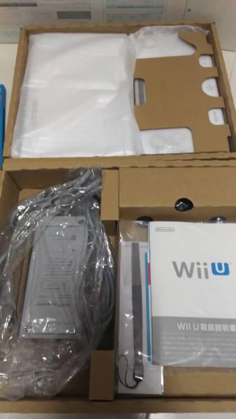 【中古】WiiU本体+スプラトゥーン+アミーボ付_画像2