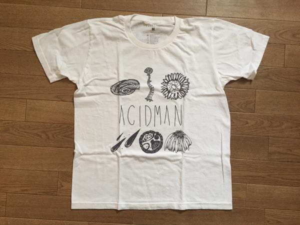 ACIDMAN★有と無ツアー Tシャツ★『M』新品 ホワイト 即決