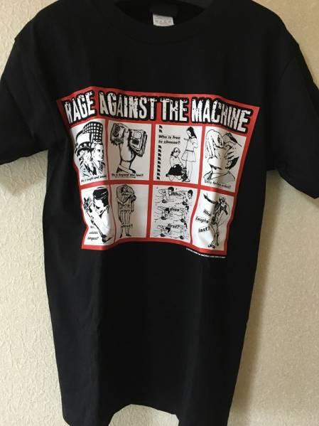 RAGE AGAINST THE MACHINE Tシャツ レイジ M ブラック 黒 中古