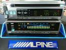 アルパイン CDA-7841J TDA-5643 CD テープ イコライザー グライコ 旧車 ALPINE