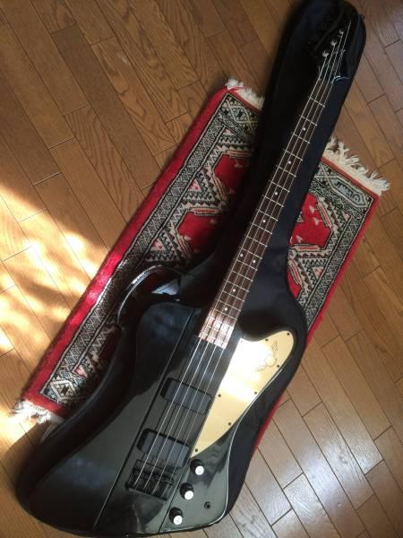 レア Tokai サンダーバードモデル 黒 アイロン矯正 ナットブリッジ調整 低弦高はこBOON5kg