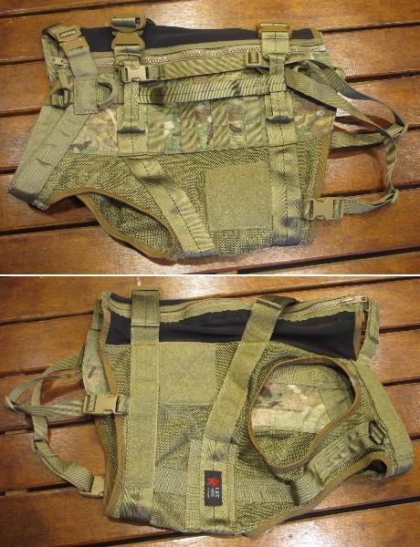 実物 未使用 LBT-1608K-9 Tactical K-9 Harness ドッグハーネス Multicam マルチカム 特殊部隊_画像2