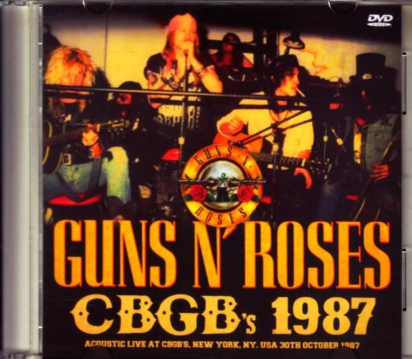 0210 Guns N' Roses ガンズ・アンド・ローゼス/NY,USA 1987