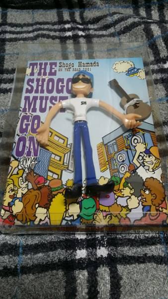 レア 希少 美品 浜田省吾 ON THE ROAD 2001 THE SHOGO MUST GO ON くねくねフィギュア ※使用品