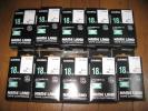 新品 カシオネームランド 黒文字白テープ10個セット