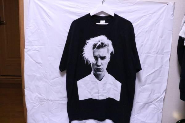 再出品 未着用 XL ジャスティンビーバー purpose tour Tシャツ ライブグッズの画像