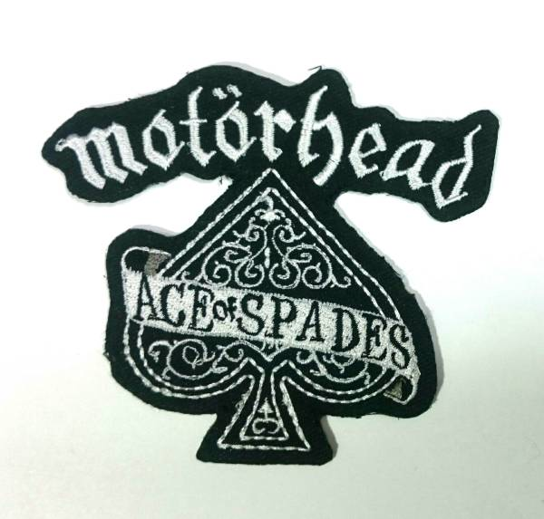 MOTORHEAD ACE OF SPADES EMBROIDERED PATCH クリックポスト送料164円 モーターヘッド エースオブスペーズ パッチ