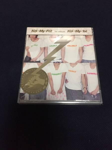 【未使用・未開封】 Kis-My-Ft2(キスマイ) 1st Album Kis-My-1st CD&DVD
