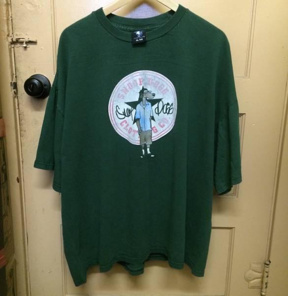 レア SNOOP DOGG ビンテージ Tシャツ N.W.A. DR.DRE ICE CUBE 2PAC PABLO カニエ NIRVANA RAP TEE XL