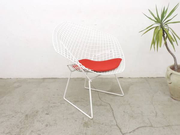 """Classy Knoll Knoll""""Diamond Chair""""belt size 20 万正 regulations goods/postmodern source site collection online MoMA"""