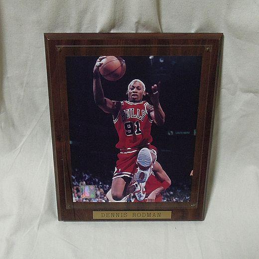 週末タイムサービス DENNIS RODMAN ロッドマンNBA BULLS 写真 NBAオフィシャル商品【管2014】 グッズの画像